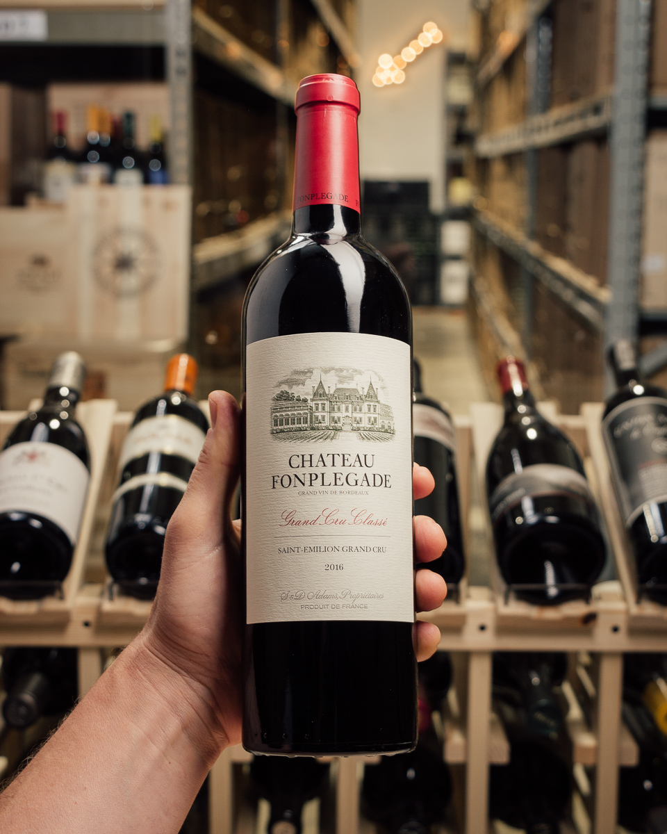Chateau Fonplegade Saint Emilion Grand Cru 2016  - First Bottle