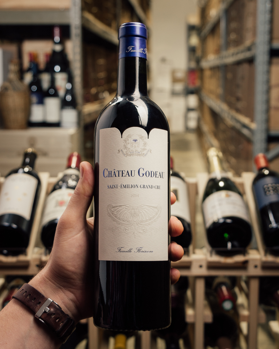Chateau Godeau Saint Emilion Grand Cru 2014  - First Bottle