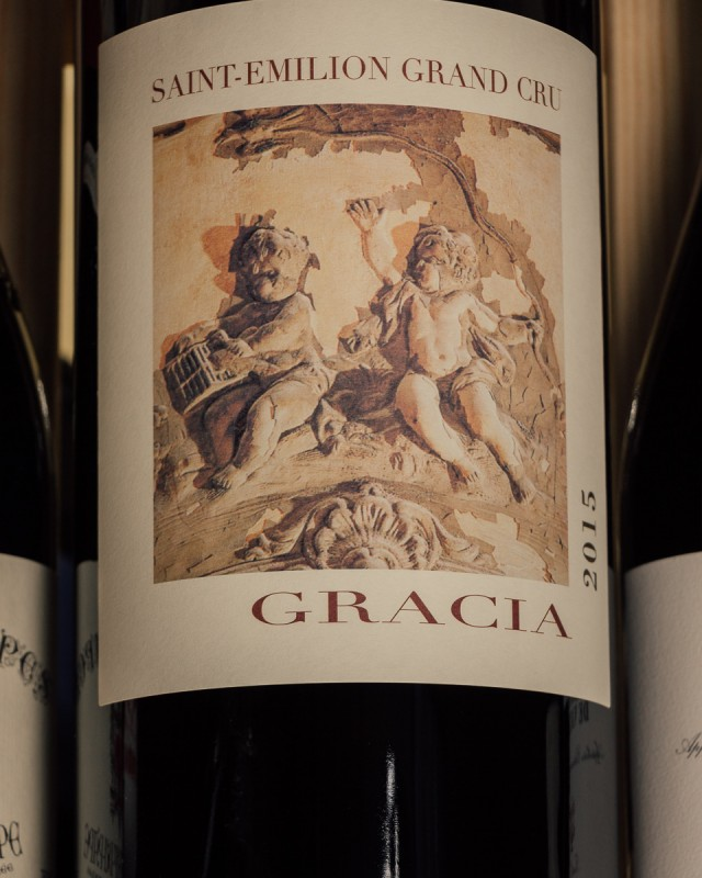 Chateau Gracia Saint Emilion Grand Cru 2015 (Double Magnum 3L)