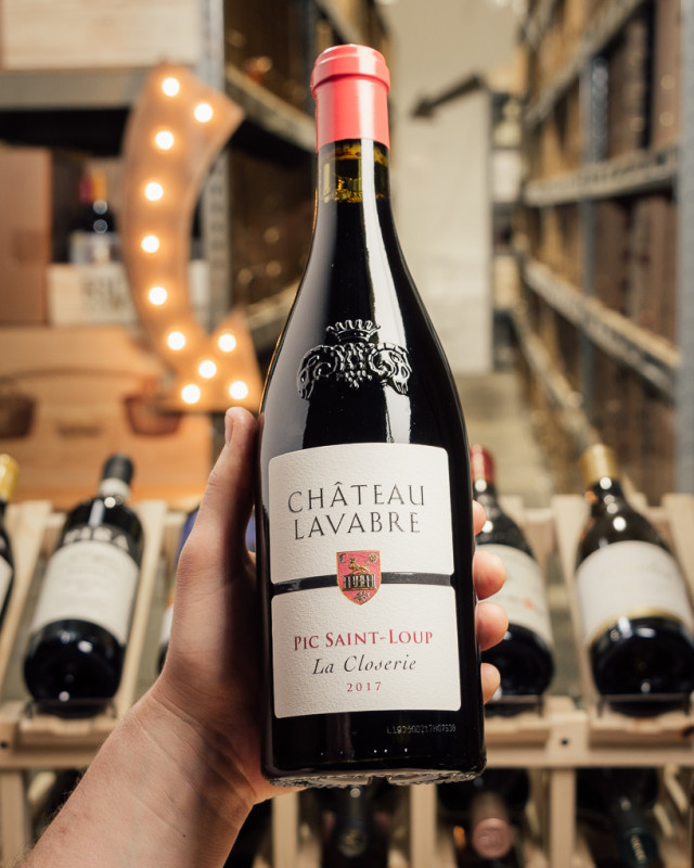 Chateau Lavabre Pic Saint-Loup La Closerie 2017  - First Bottle