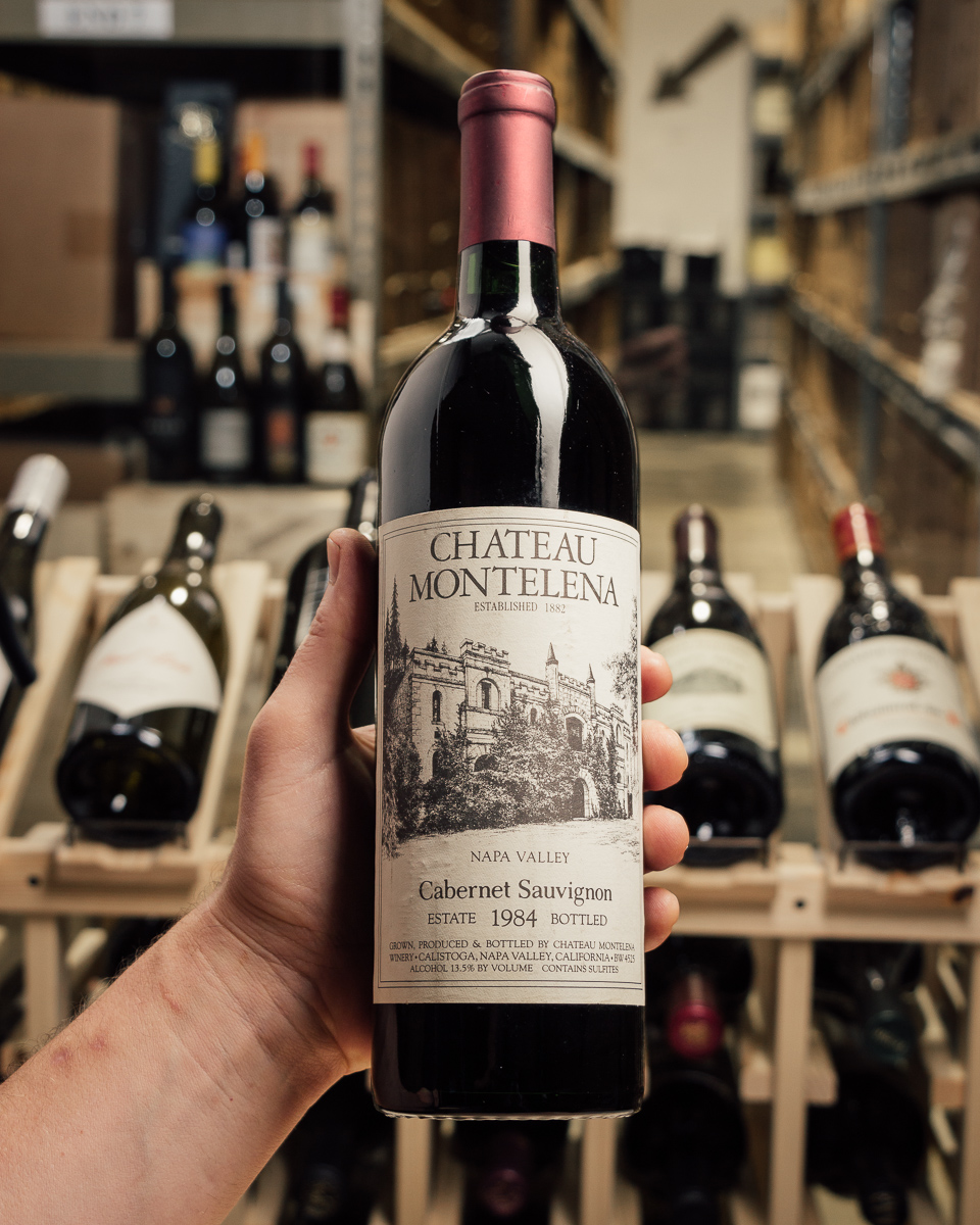 Chateau Montelena Cabernet Sauvignon Montelena Estate 1984  - First Bottle