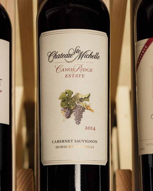 Chateau Ste. Michelle Cabernet Sauvignon Canoe Ridge Estate Vineyard 2014