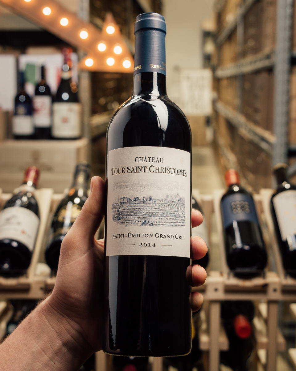 Chateau Tour Saint Christophe 2014  - First Bottle