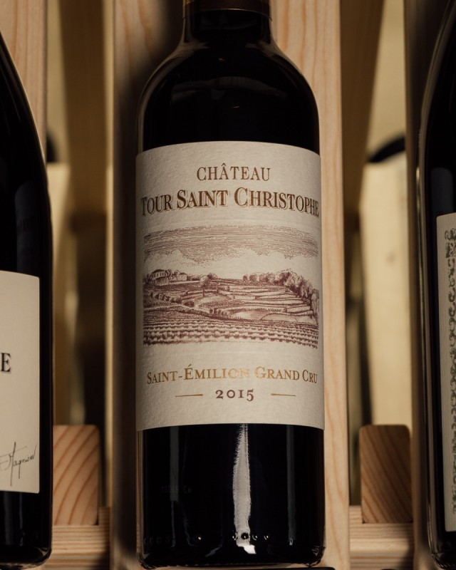 Chateau Tour Saint-Christophe Saint Emilion Grand Cru 2015 (375ml half bottle)