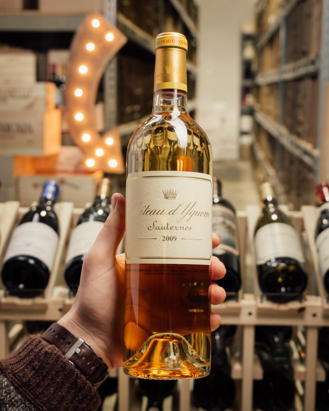 Chateau d'Yquem Sauternes 2009  - First Bottle