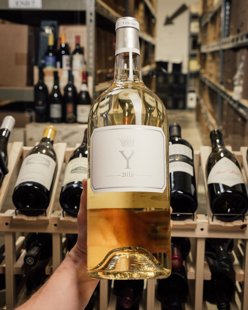 Chateau d'Yquem Ygrec 2016 (Double Magnum 3L)  - First Bottle