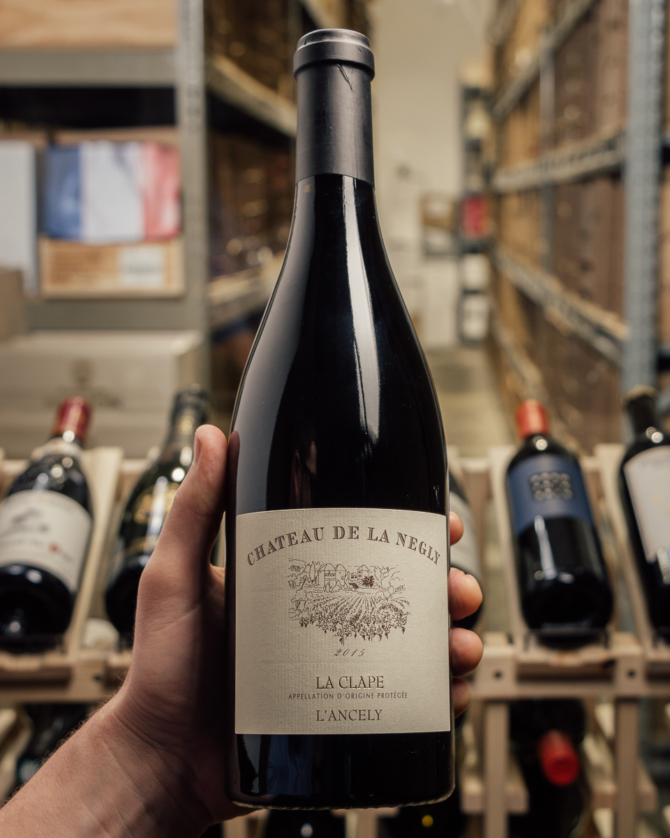 Chateau de la Negly Coteaux du Languedoc la Clape L`Ancely 2015  - First Bottle