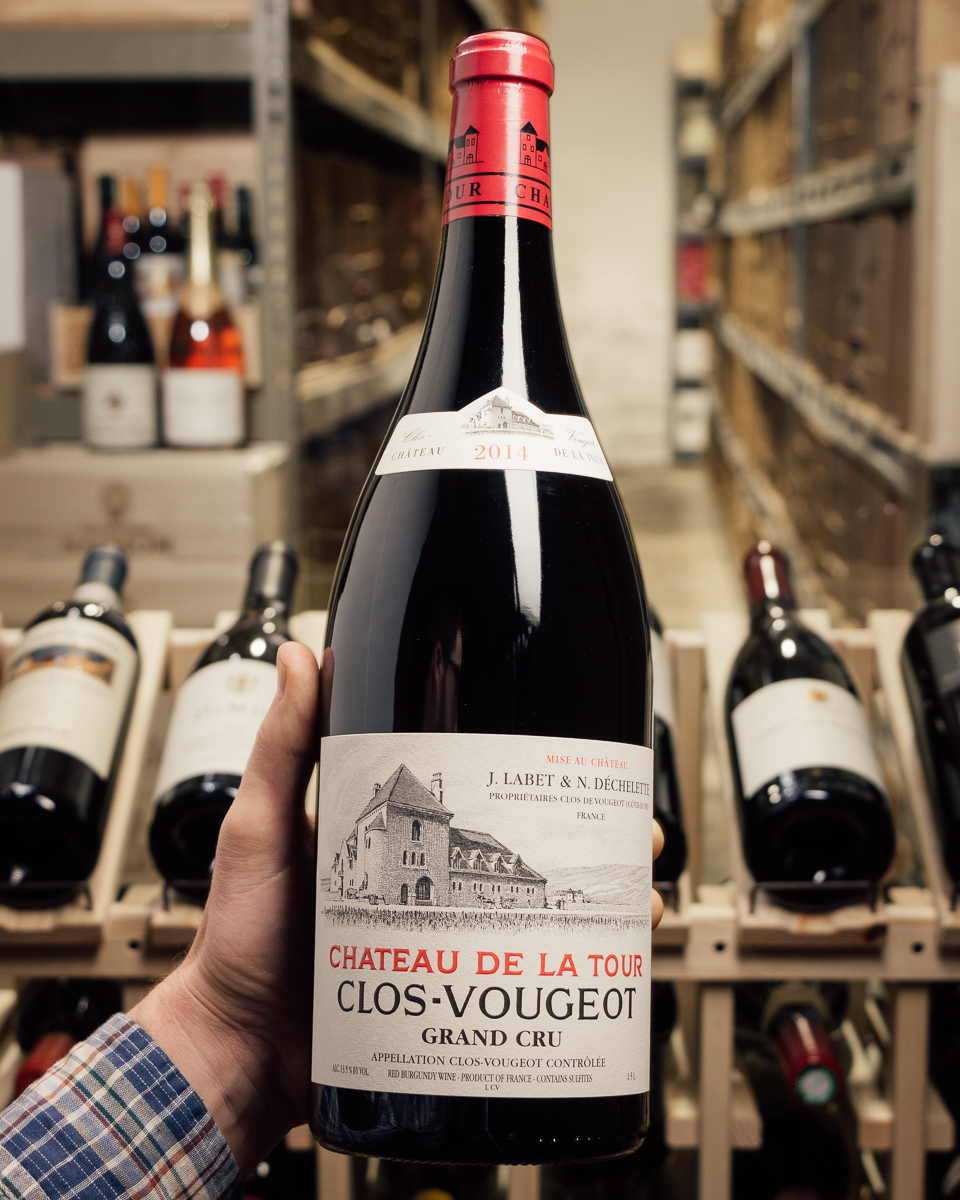 Chateau de la Tour Clos Vougeot 2014 (Magnum 1.5L)  - First Bottle