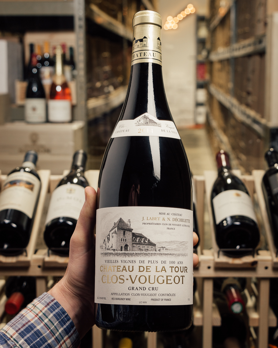 Chateau de la Tour Clos Vougeot VV 2014 (Magnum 1.5L)  - First Bottle