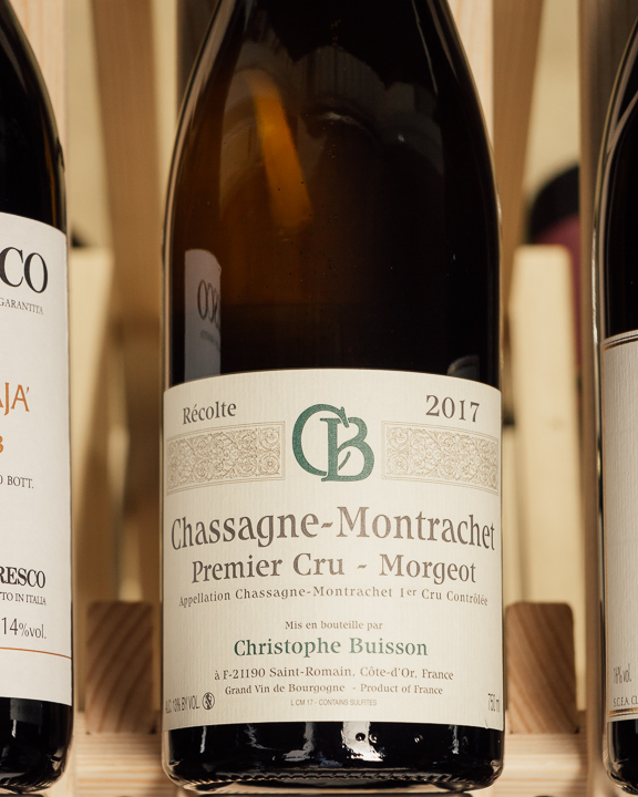Christophe Buisson Chassagne Montrachet Morgeot 1er Cru 2017