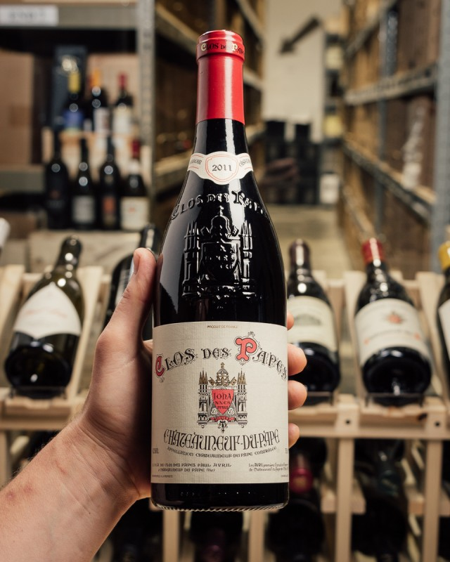 Clos des Papes Chateauneuf du Pape 2011  - First Bottle