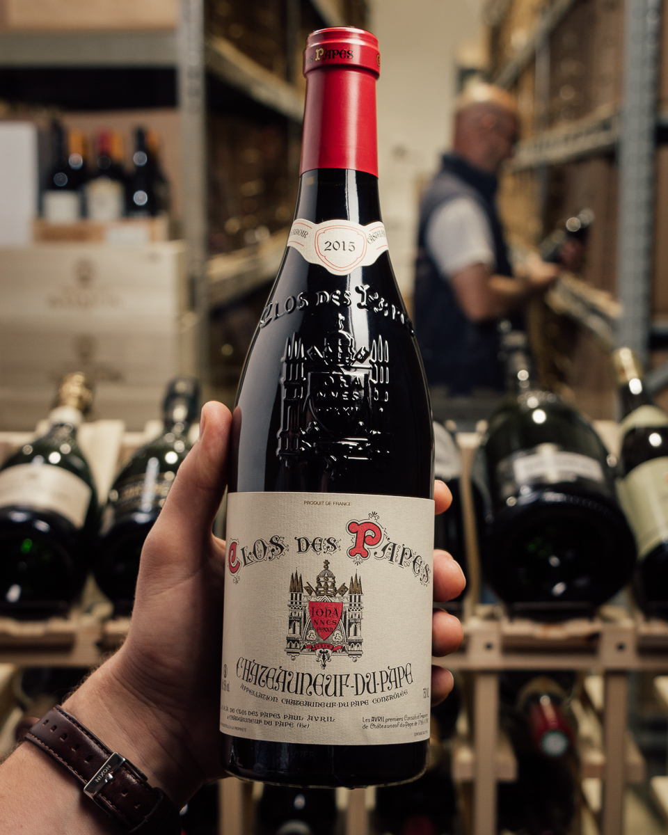 Clos des Papes Chateauneuf du Pape 2015  - First Bottle