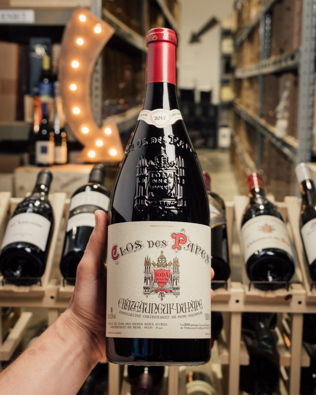 Clos des Papes Chateauneuf du Pape 2017 (Magnum 1.5L)  - First Bottle