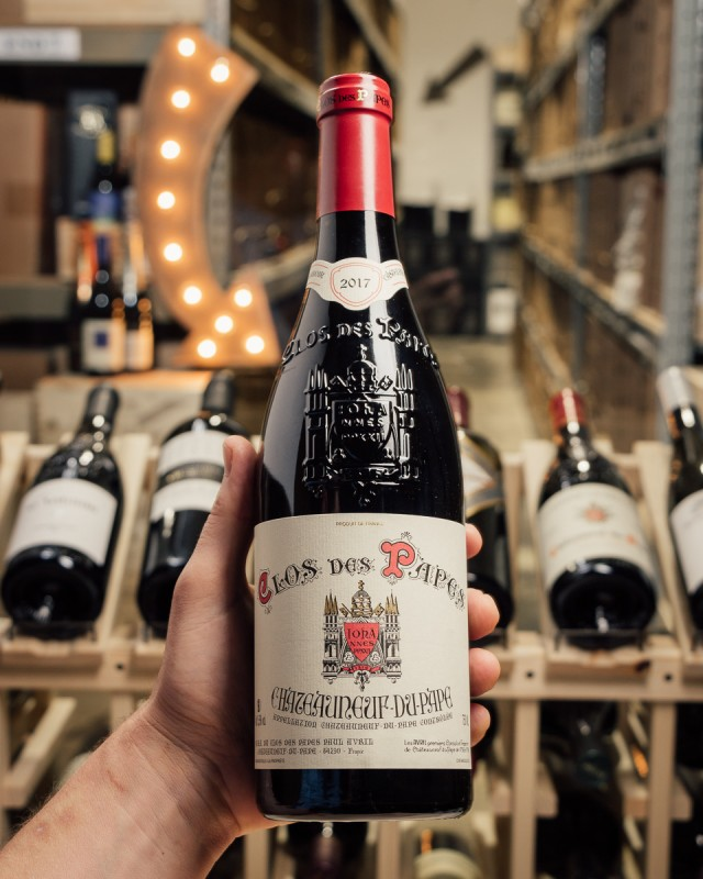Clos des Papes Chateauneuf du Pape 2017  - First Bottle