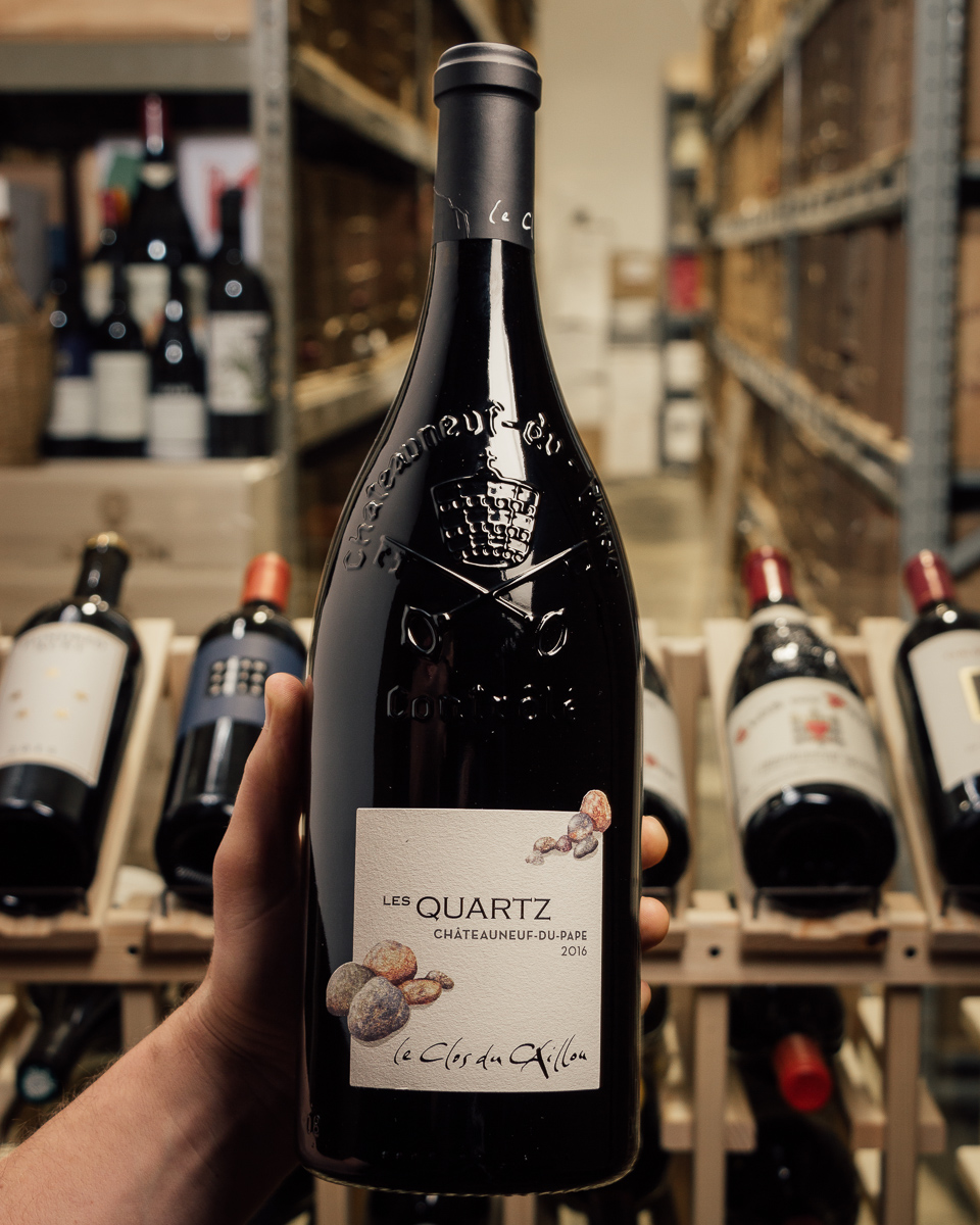 Clos du Caillou Chateaneuf du Pape Les Quartz 2016 (1.5L Magnum)  - First Bottle