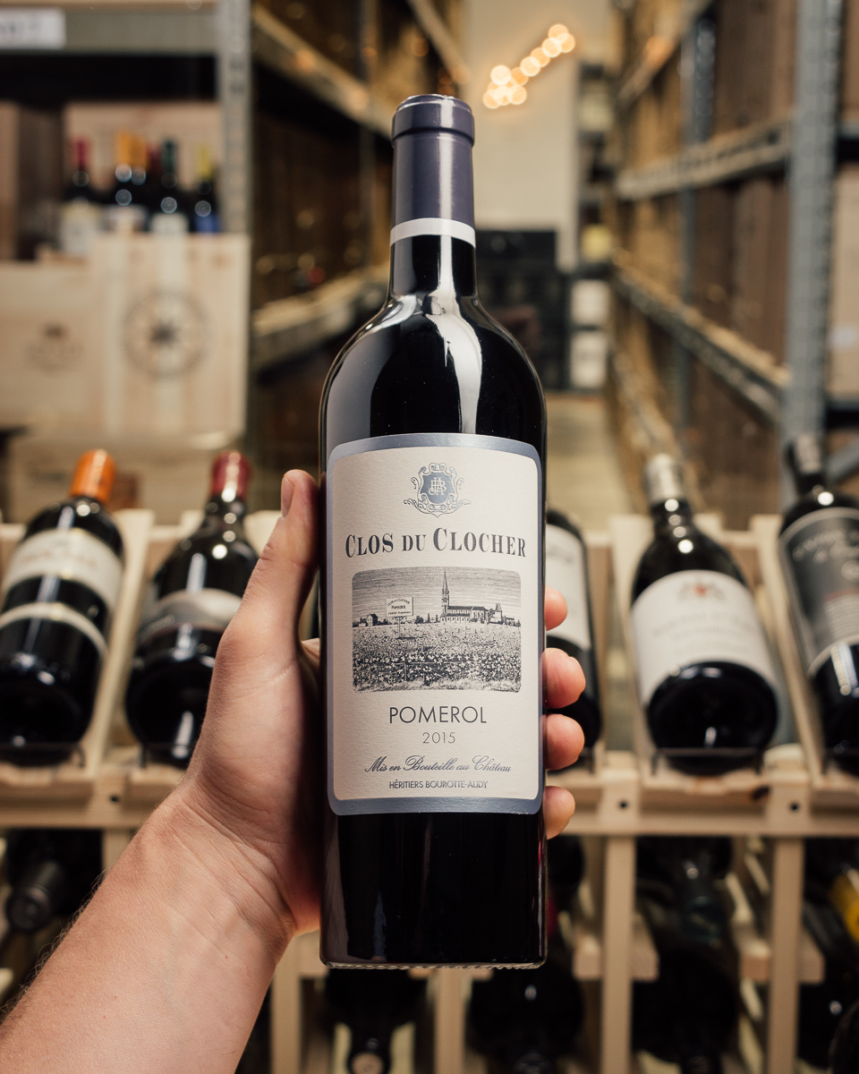 Clos du Clocher Pomerol 2015  - First Bottle