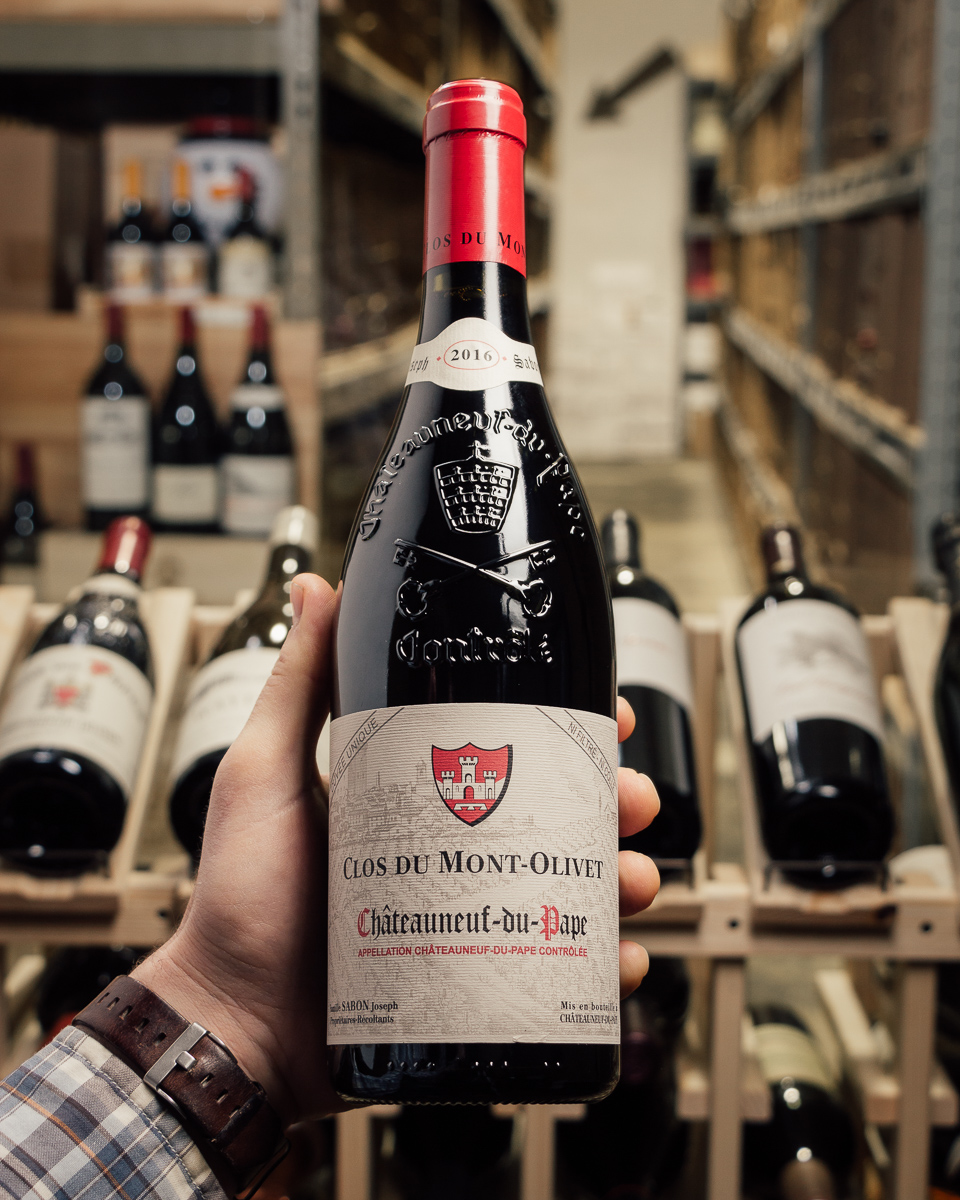 Clos du Mont Olivet Chateauneuf du Pape Cuvee Unique 2016  - First Bottle