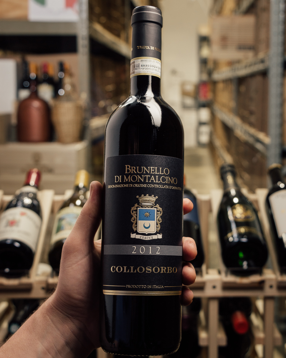 Collosorbo Brunello di Montalcino 2012  - First Bottle