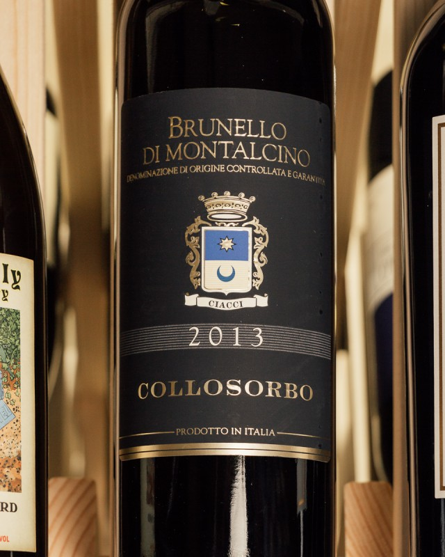 Collosorbo Brunello di Montalcino 2013  - First Bottle