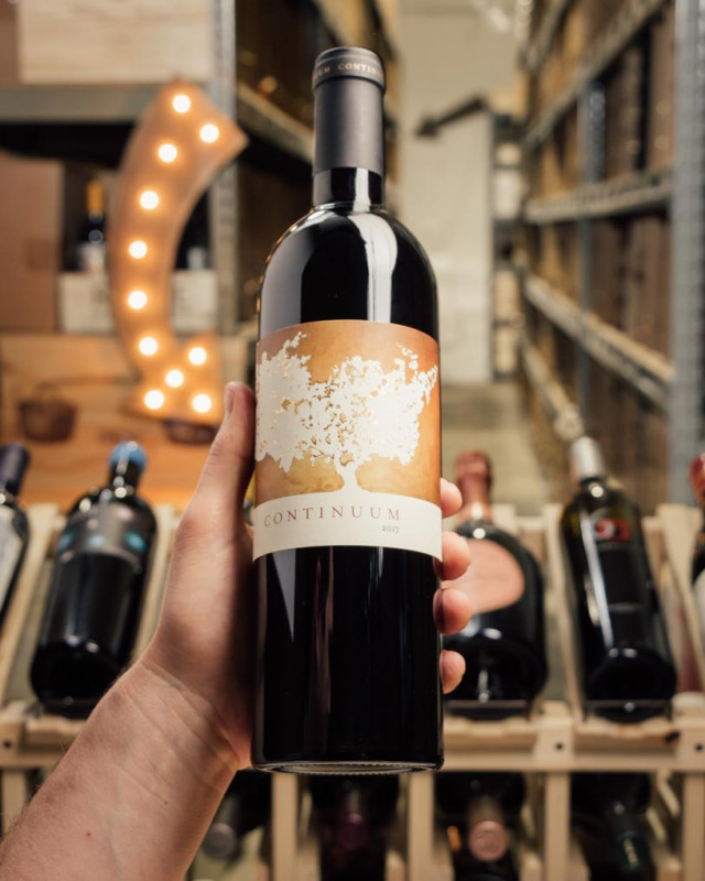 Continuum Proprietary Red Sage Mountain Vineyard Napa Valley 2017  - First Bottle