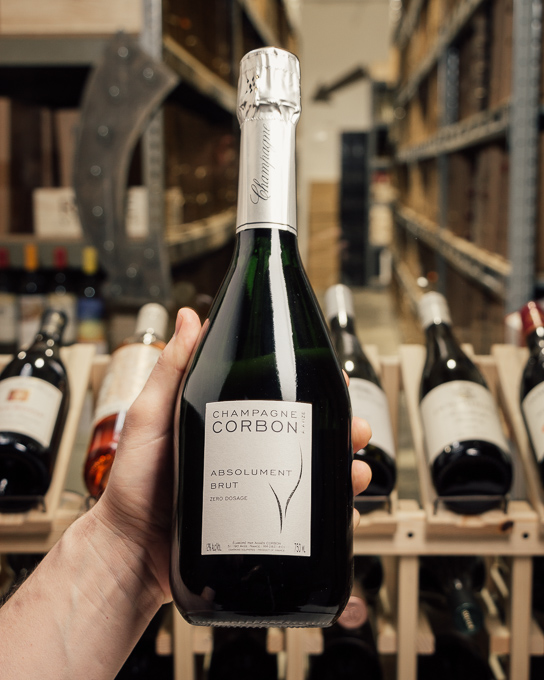 Corbon Absolument Brut Zero Dosage NV  - First Bottle
