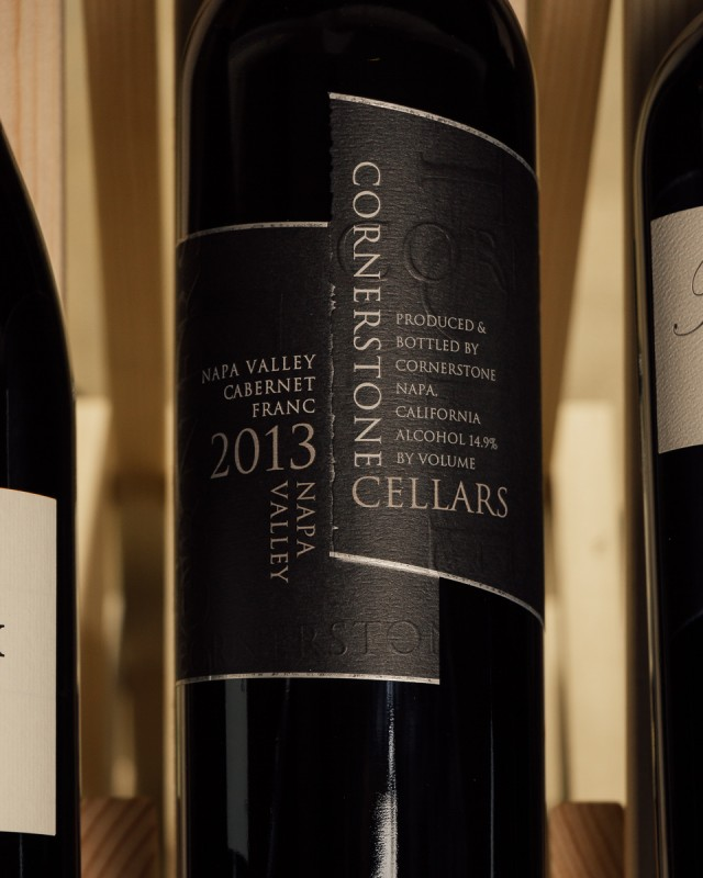 Cornerstone Cellars Cabernet Franc Napa Valley 2013