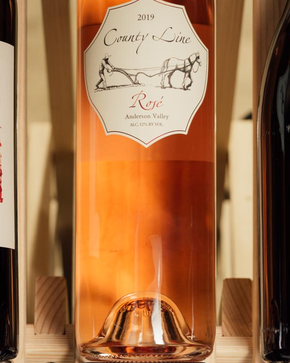 County Line Rose of Pinot Noir Elke Home Ranch Anderson Valley 2019
