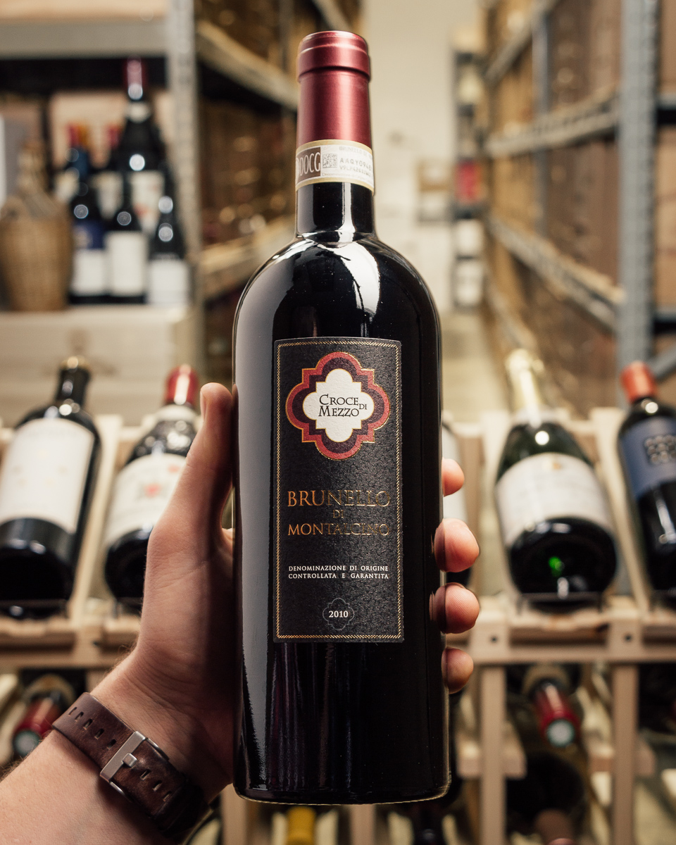 Croce di Mezzo Brunello di Montalcino 2010  - First Bottle