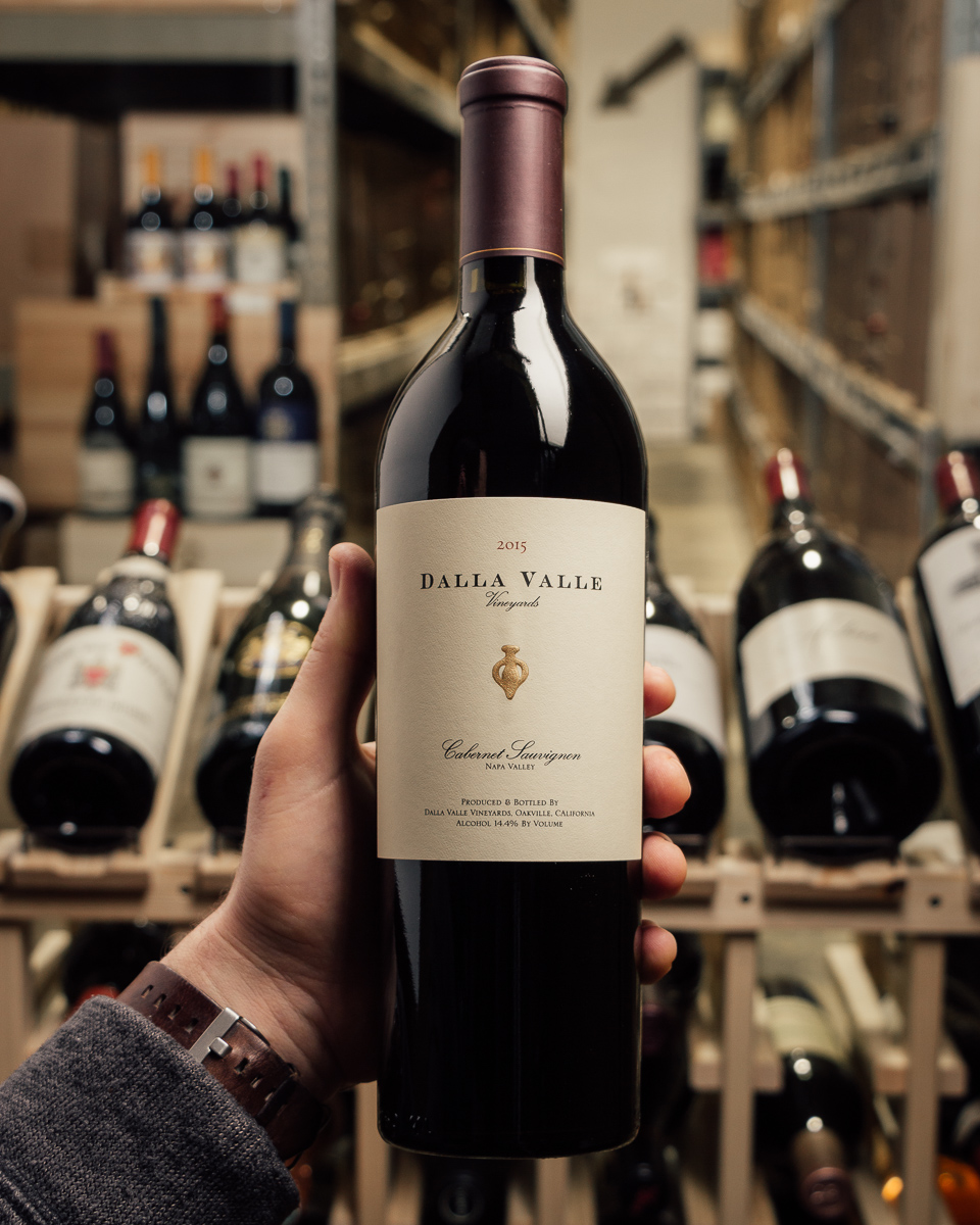 Dalla Valle Cabernet Sauvignon 2015  - First Bottle