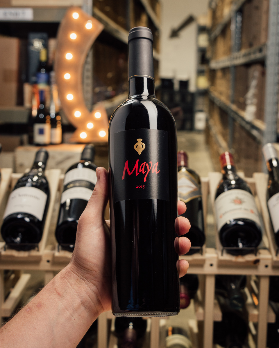 Dalla Valle Maya Red 2015  - First Bottle