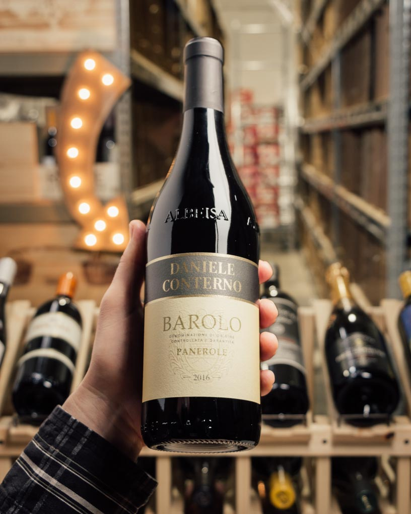 Daniele Conterno Barolo Panerole 2016  - First Bottle