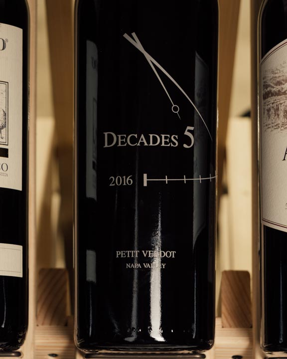 Decades 5 Petit Verdot Stagecoach Vineyard 2016