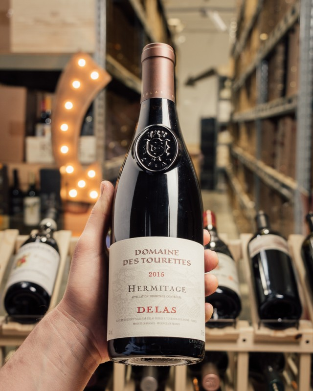 Delas Hermitage Marquise de la Tourette 2015  - First Bottle