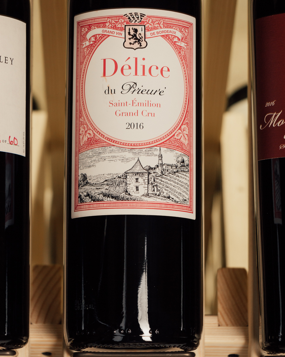 Delice Du Prieure Saint Emilion Grand Cru 2016  - First Bottle