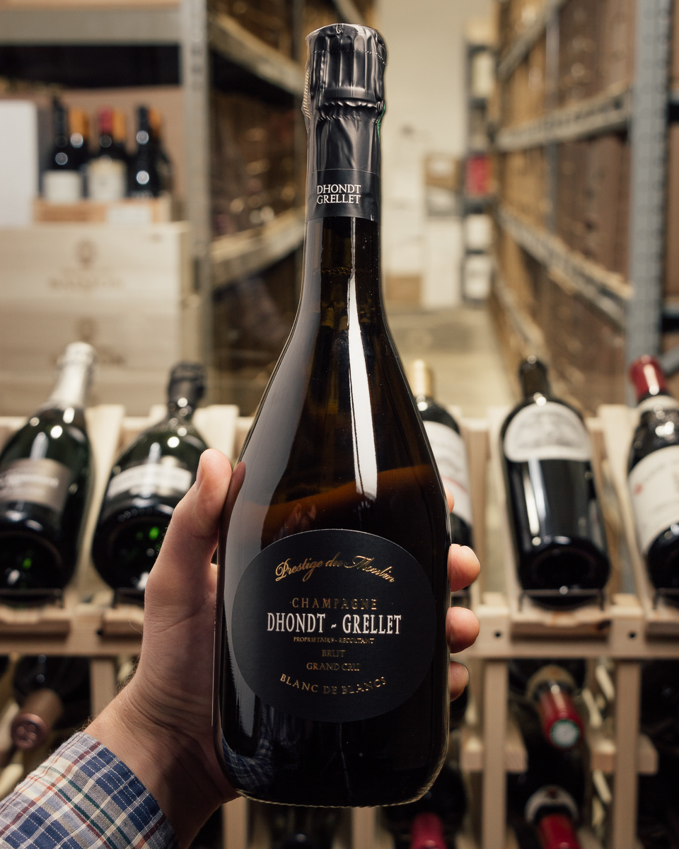 Dhondt-Grellet Blanc de Blancs Grand Cru Prestige du Moulin NV  - First Bottle