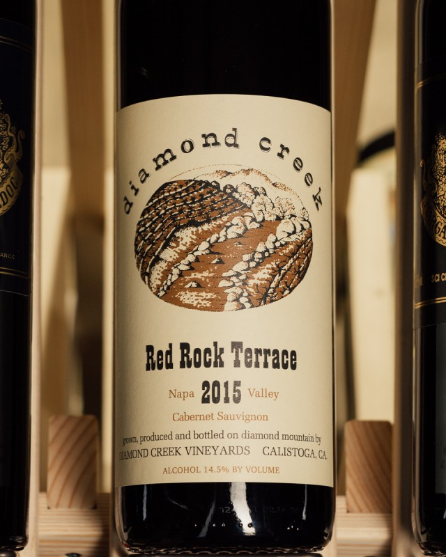 Diamond Creek Red Rock Terrace Cabernet Sauvignon 2015  - First Bottle