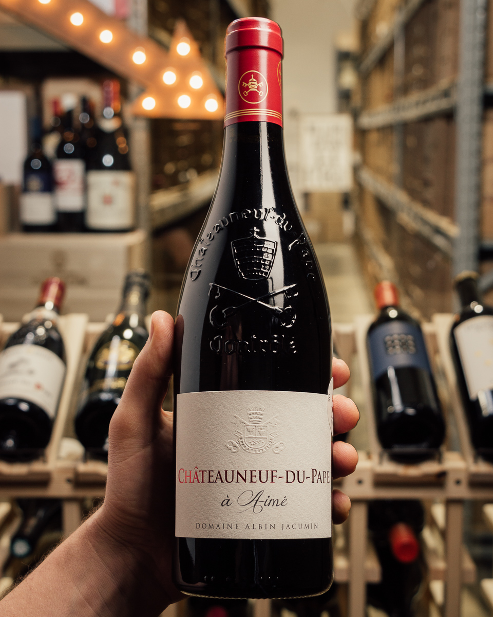 Domaine Albin Jacumin Chateauneuf du Pape A Aime 2015  - First Bottle