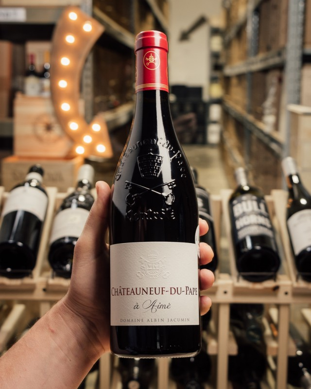 Domaine Albin Jacumin Chateauneuf du Pape A Aime 2016  - First Bottle