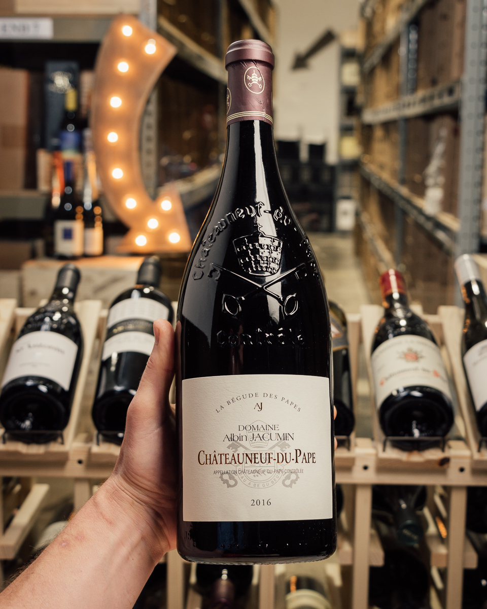 Domaine Albin Jacumin Chateauneuf du Pape La Begude des Papes 2016 (Magnum 1.5L)  - First Bottle