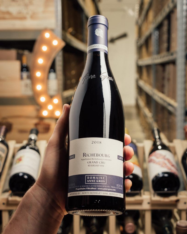 Domaine Anne Gros Richebourg Grand Cru 2018  - First Bottle