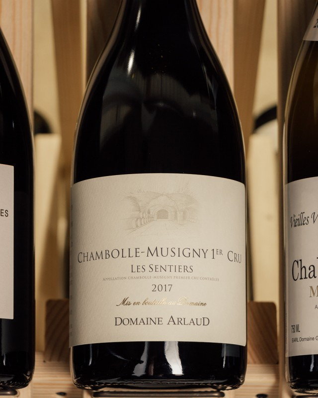 Domaine Arlaud Chambolle Musigny Les Sentiers 1er Cru 2017