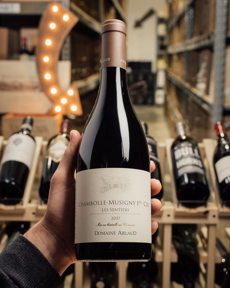Domaine Arlaud Chambolle Musigny Les Sentiers 1er Cru 2017  - First Bottle