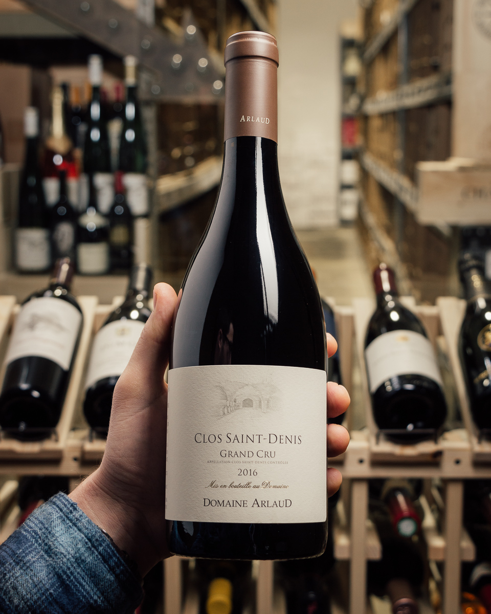 Domaine Arlaud Clos Saint Denis Grand Cru 2016  - First Bottle