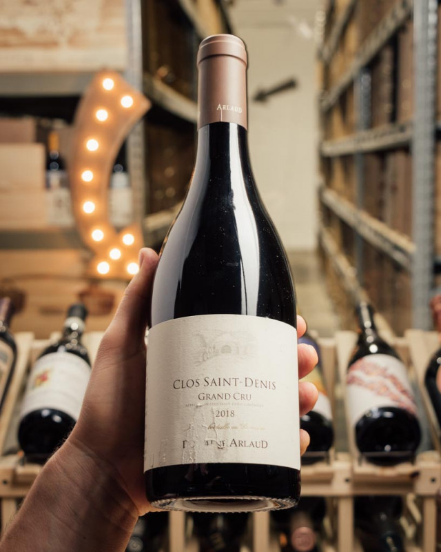 Domaine Arlaud Clos Saint Denis Grand Cru 2018 (scuffed labels)  - First Bottle