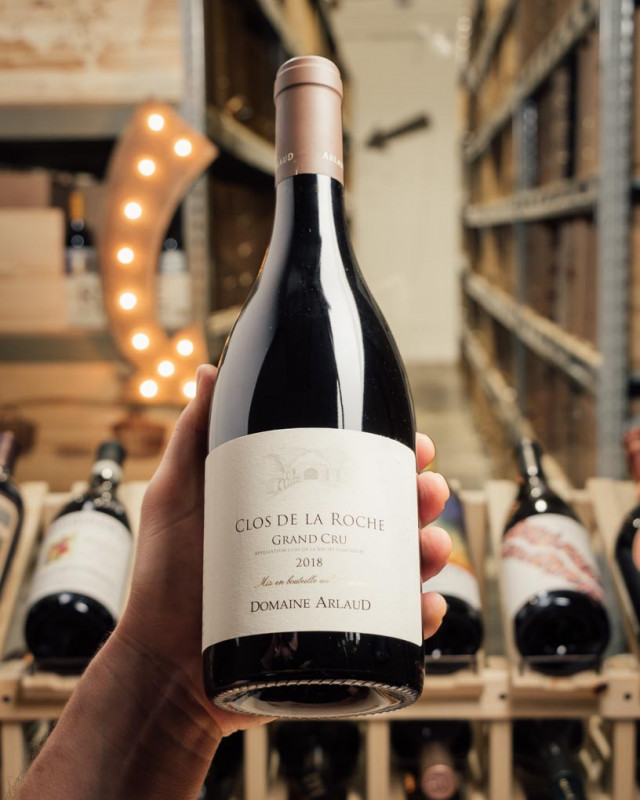 Domaine Arlaud Clos de la Roche Grand Cru 2018  - First Bottle