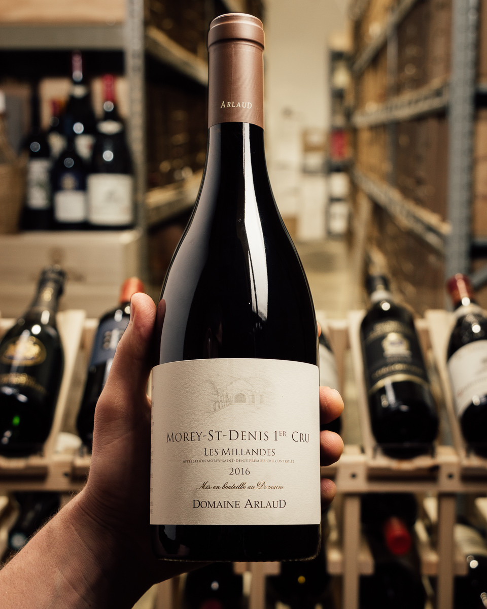 Domaine Arlaud Morey Saint Denis Millandes 1er Cru 2016  - First Bottle