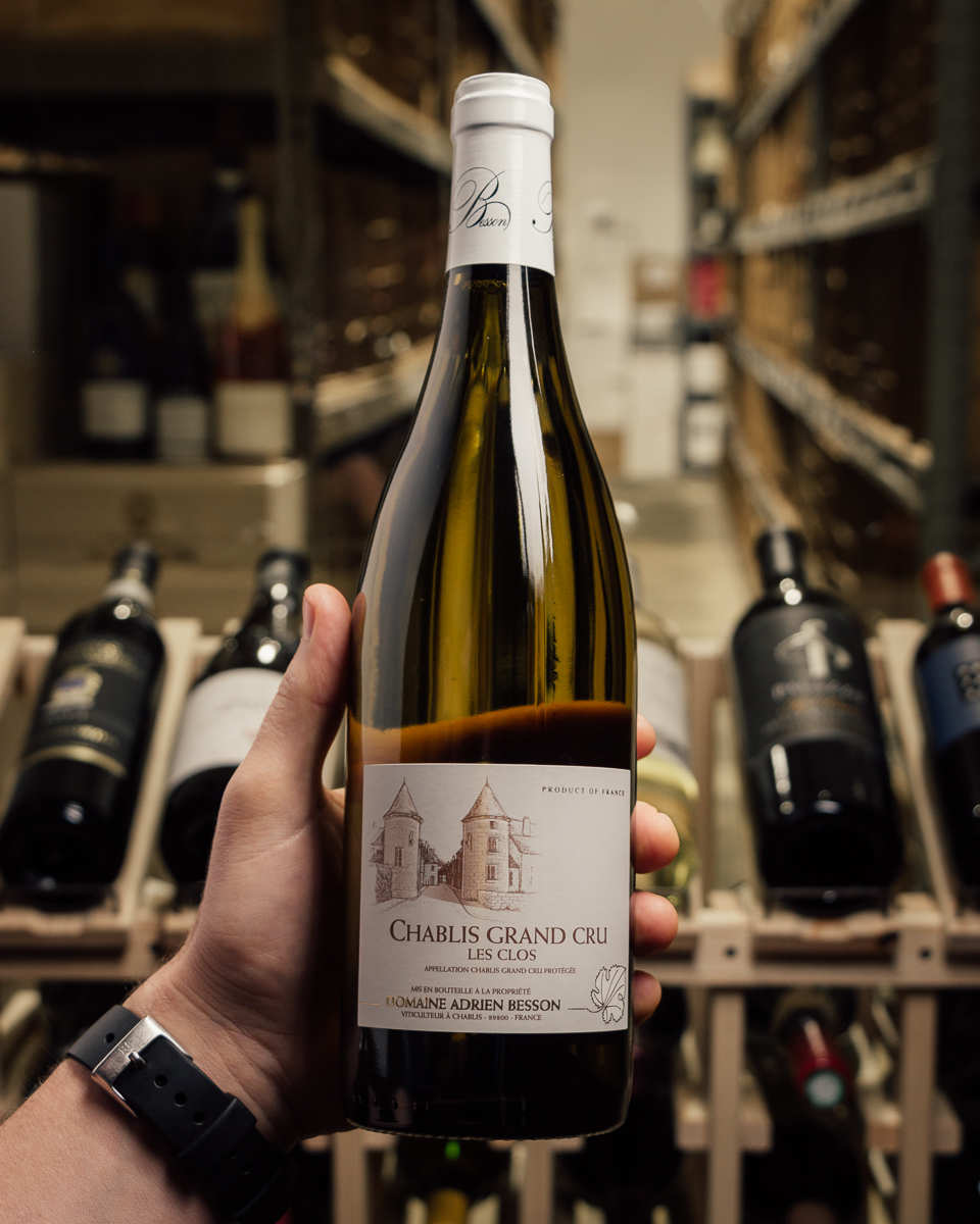 Domaine Besson Chablis Les Clos Grand Cru 2015  - First Bottle