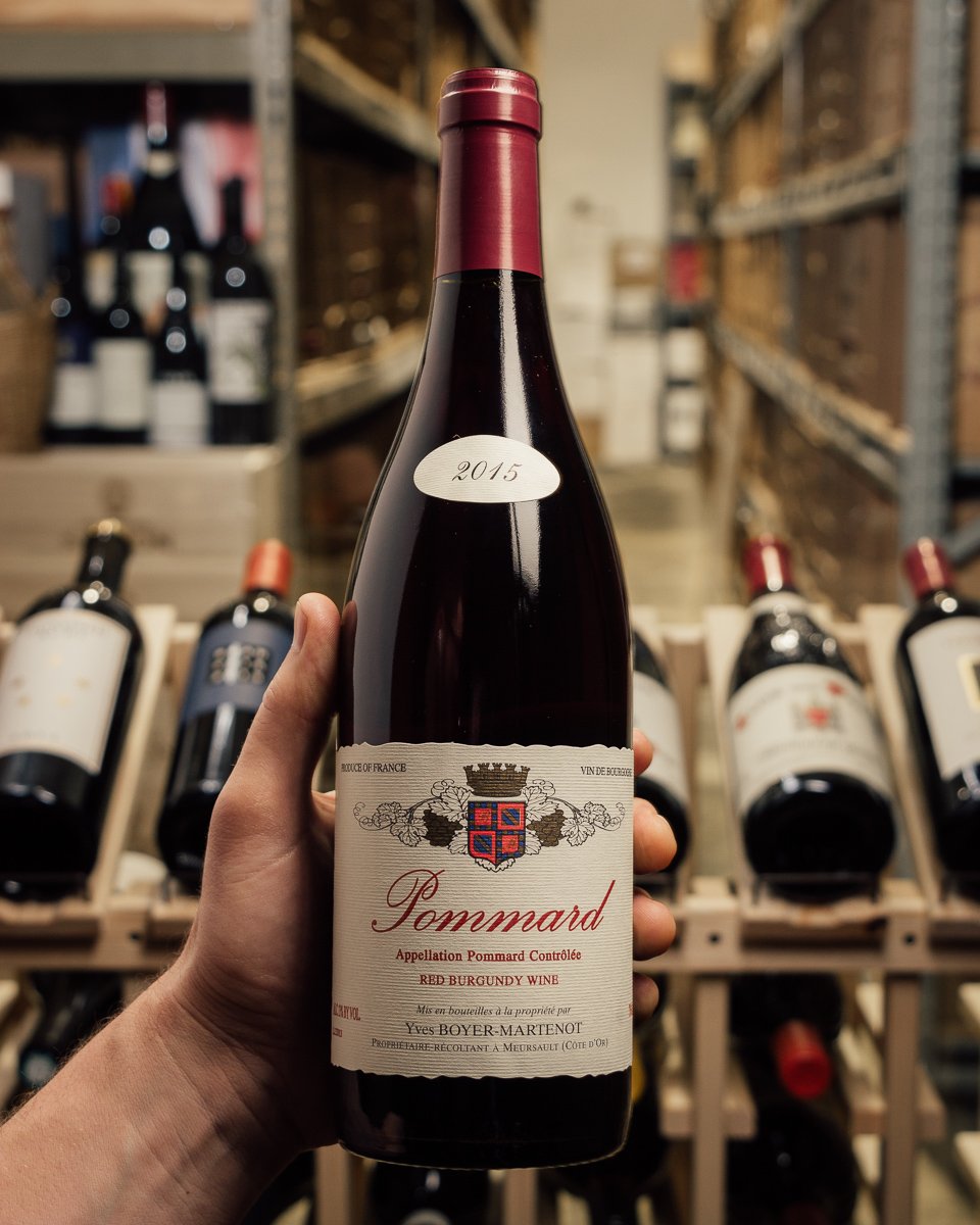 Domaine Boyer-Martenot Pommard En Village 2015  - First Bottle