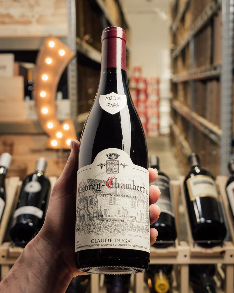Domaine Claude Dugat Gevrey-Chambertin 2018  - First Bottle