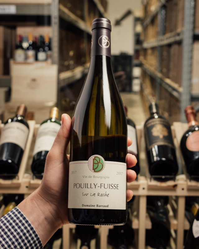 Domaine Daniel Barraud Pouilly Fuisse La Roche 2017  - First Bottle